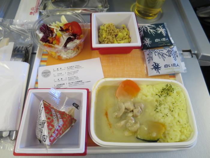 JL81 機内食 上海線