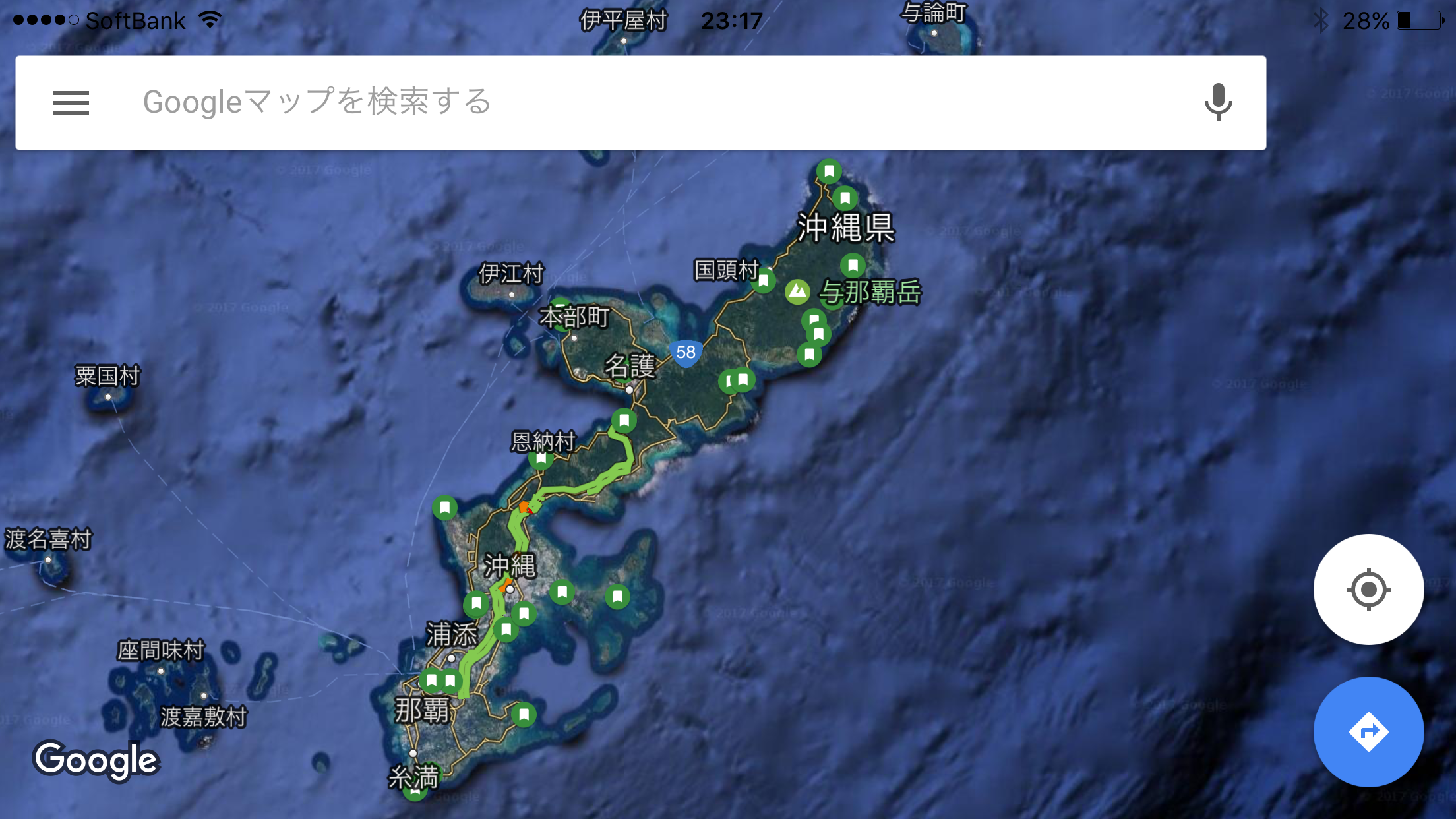 20170220沖縄地図