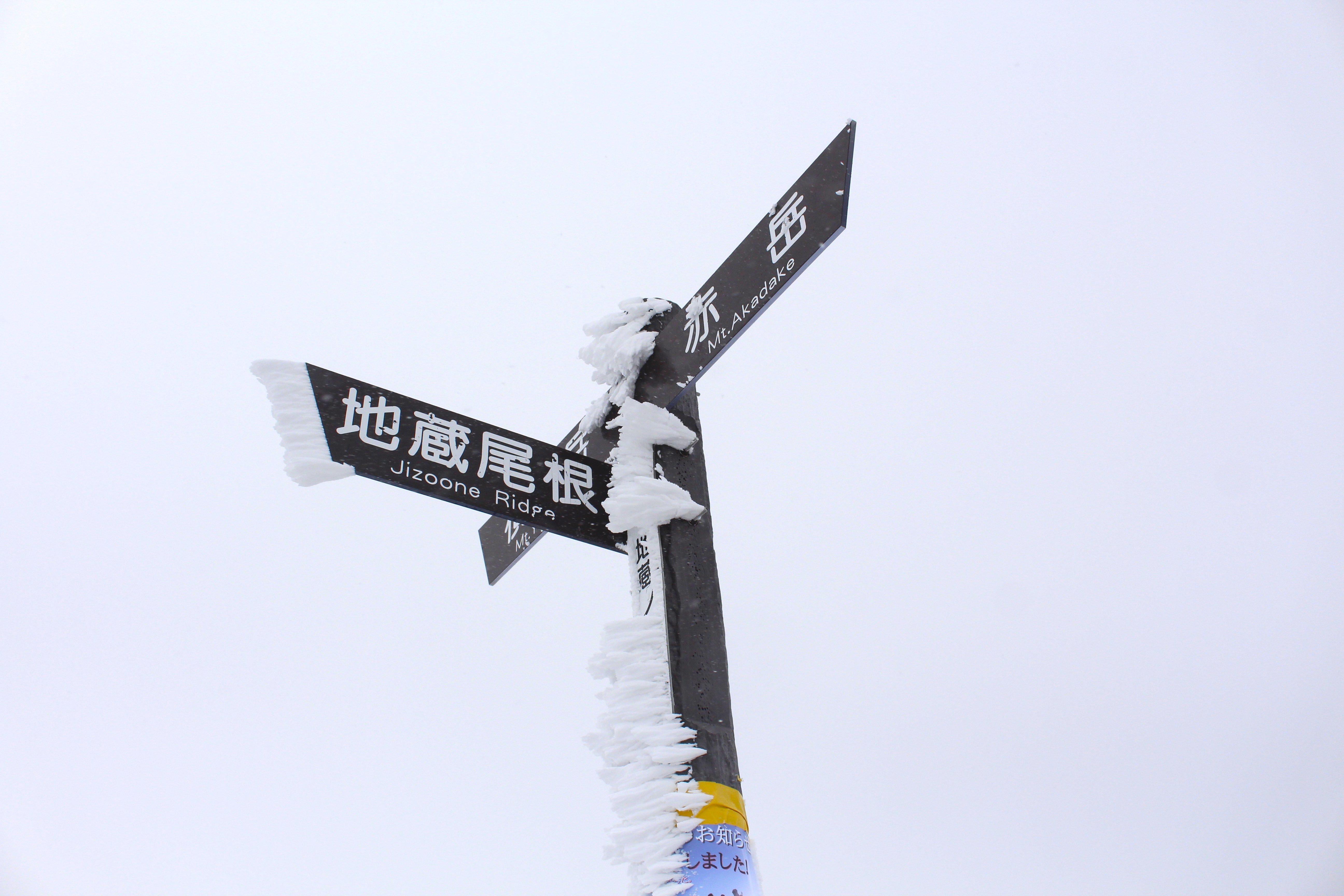 20170303地蔵尾根分岐