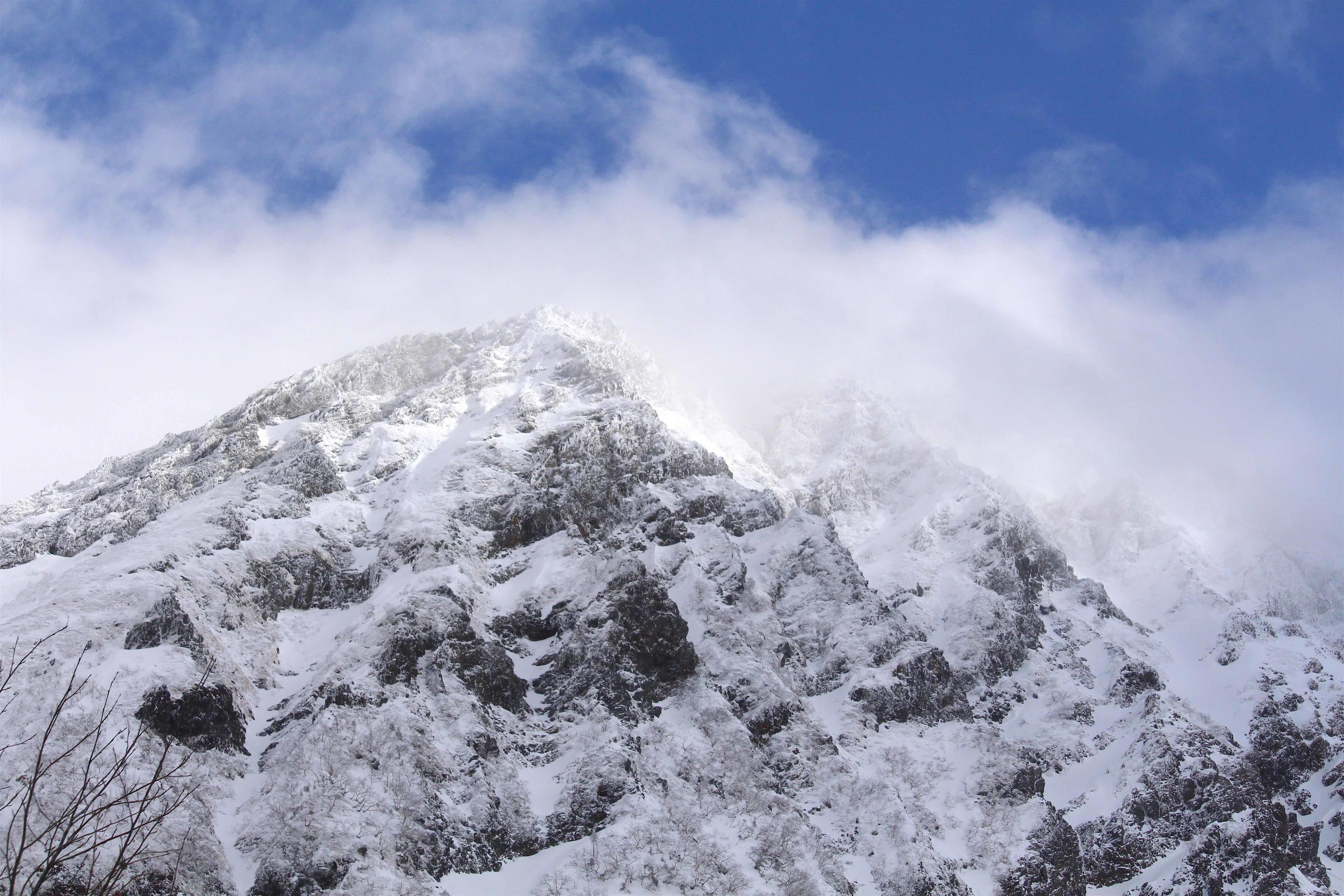 20170303勇ましい赤岳