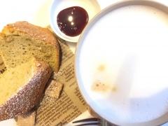 安納芋のケーキ