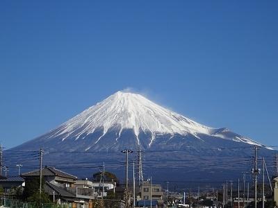 2月7日の富士山