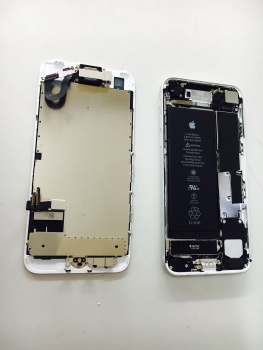 iPhone7ガラス割れ液晶不良内部3/19