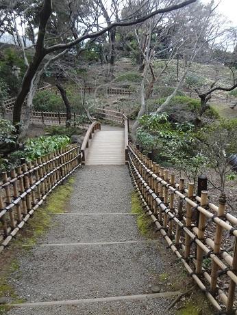 日本庭園の路