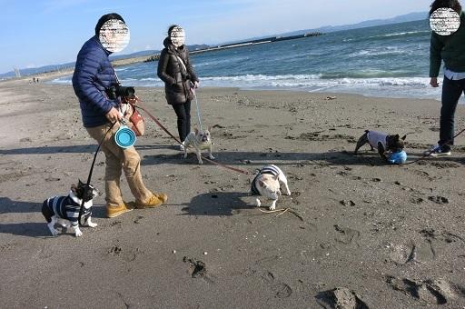 3-4砂浜4にん