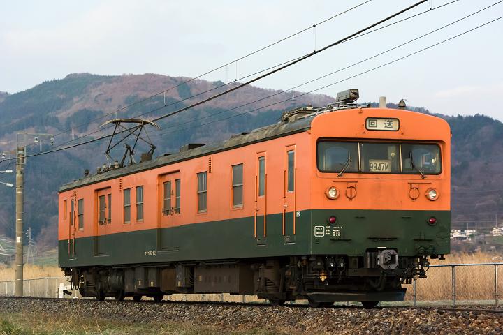 クモヤ143-322s