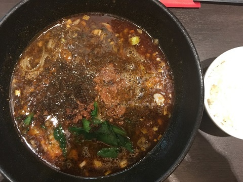 黒胡麻坦々麺