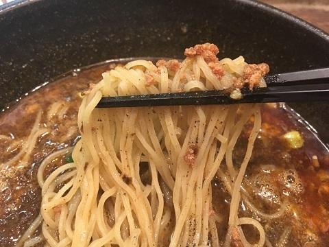 担々麺アップ