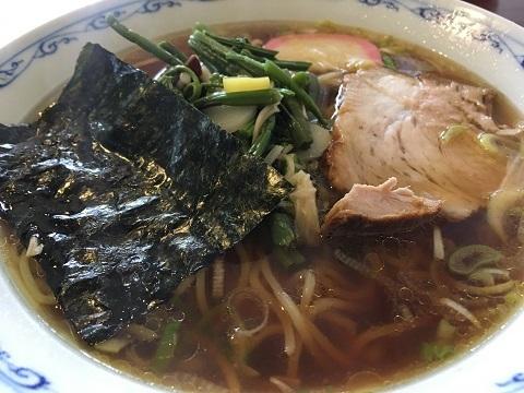 山菜ラーメン2
