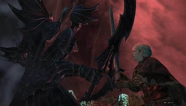 黒騎士とレオ