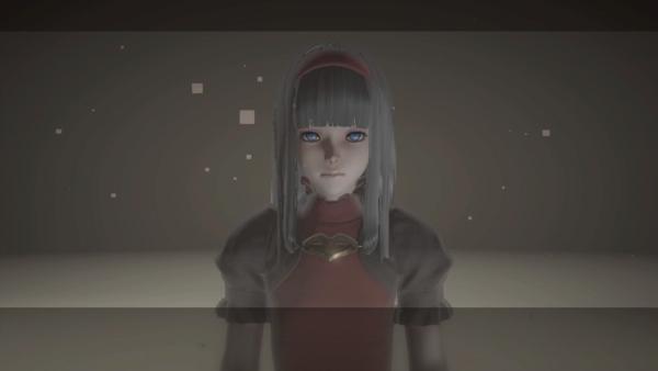 赤い少女 ニーアオートマタ