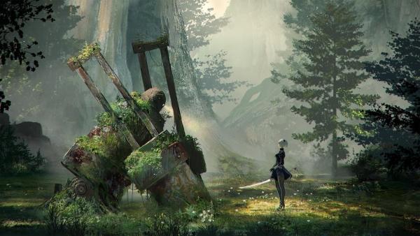 森の王 ニーアオートマタ