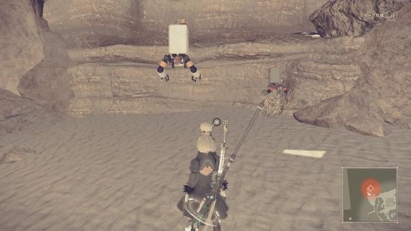 砂漠 月の涙 ニーアオートマタ