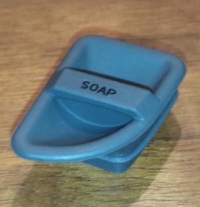 simplehuman(シンプルヒューマン) センサーソープディスペンサー 222ml ブラッシュドニッケル ST1036 洗剤口のゴム蓋