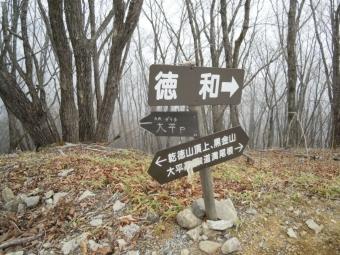 この辺まで林道何度か横切って170426