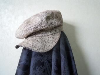 正絹絞り帽子170307