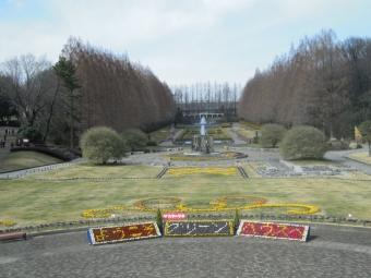 相模原公園170309フランス風庭園