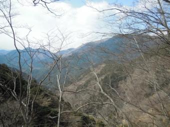 丹沢の山々170311