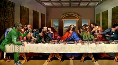 最後の晩餐+シレッセン
