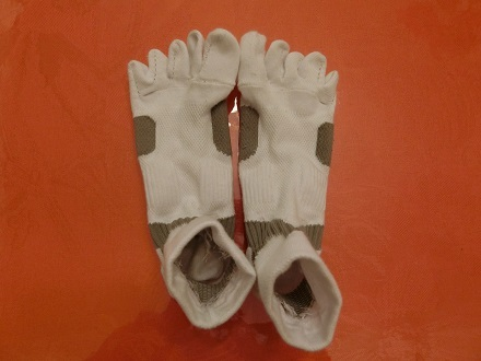 東京マラソン前靴下