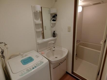 梅田借上げ社宅洗面バス洗濯機