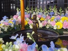 花祭りお釈迦様の誕生会