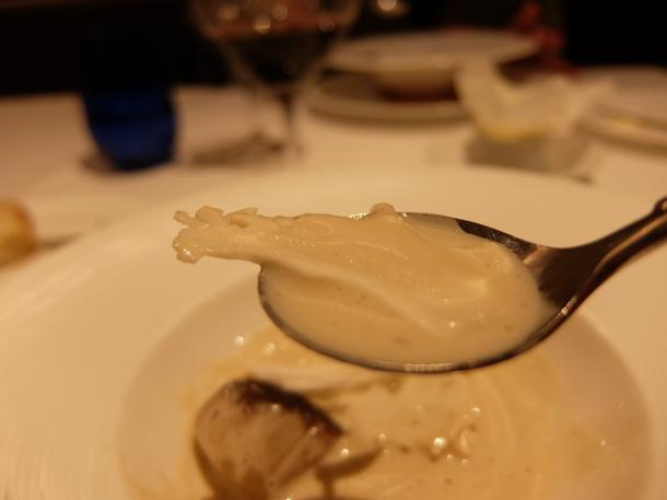 カリフラワーの食べるスープ