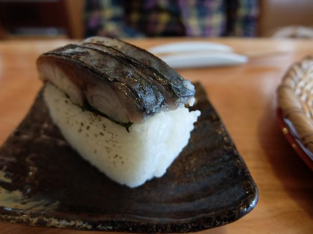 炙りさば寿司