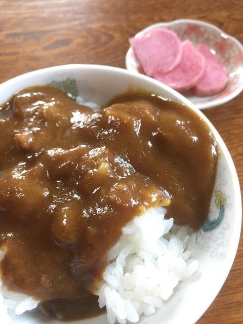 お食事処 七福亭 カレー丼