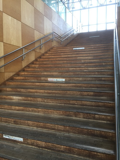 新庄駅 階段