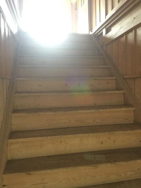 新庄市エコロジーガーデン 「原蚕の杜」 階段