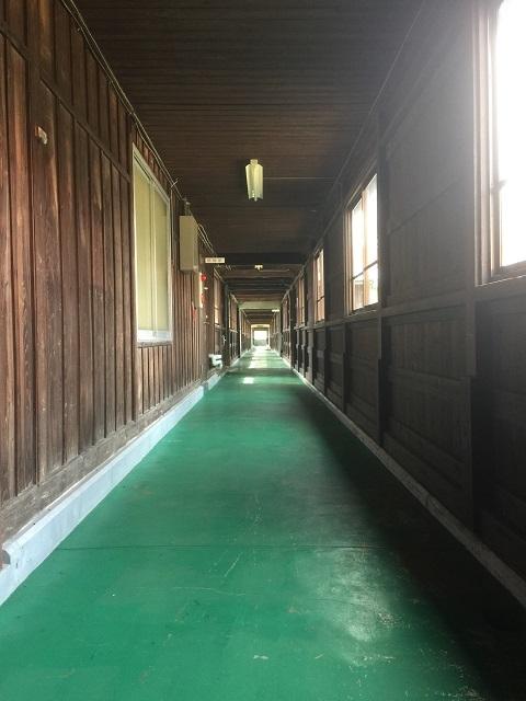 新庄市エコロジーガーデン 「原蚕の杜」 廊下