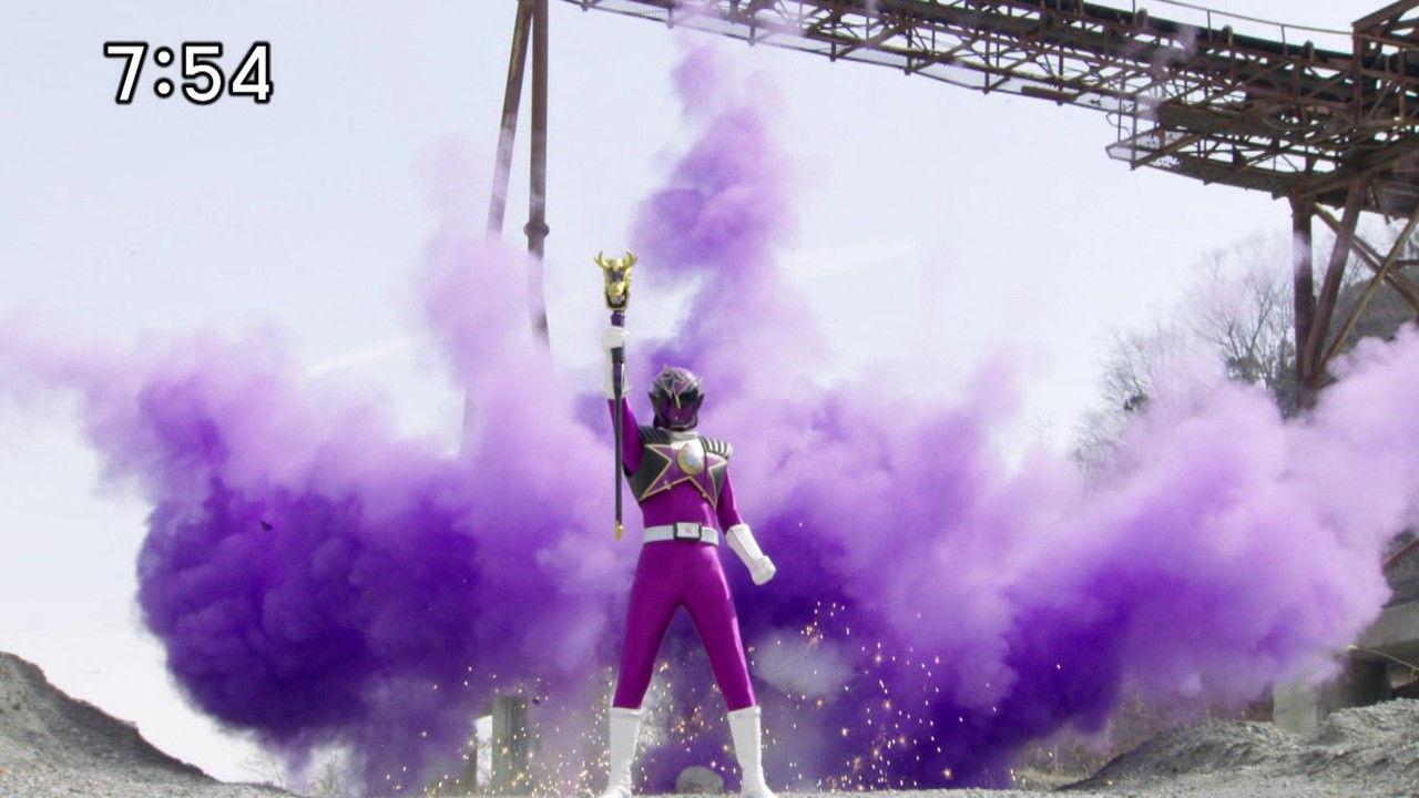 キュウレンジャー#8紫の戦士