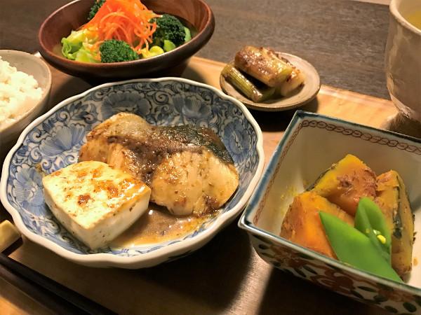 Feb01_ブリとお豆腐の甘辛煮