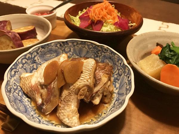 Mar13_真鯛の煮つけ
