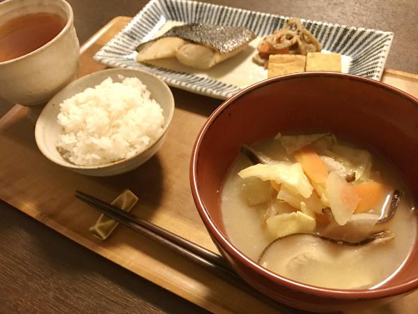 Mar24_野菜たぷりお味噌汁