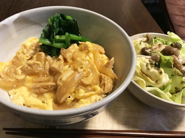 Apr12_ヘルシー親子丼