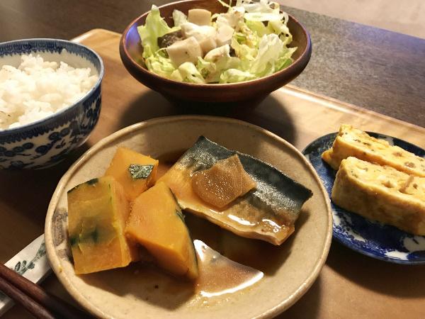 Apr17_鯖とかぼちゃの生姜煮