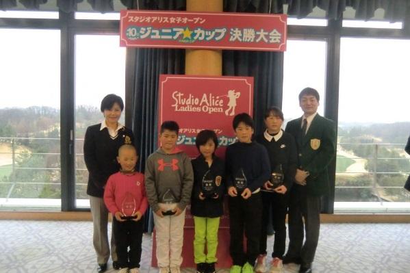 スタジオアリス女子オープン ジュニア・カップ 第10回大会