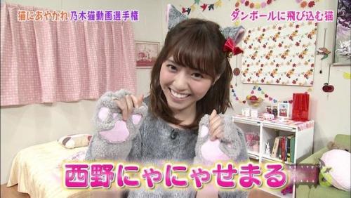 西野七瀬ちゃん、可愛い。