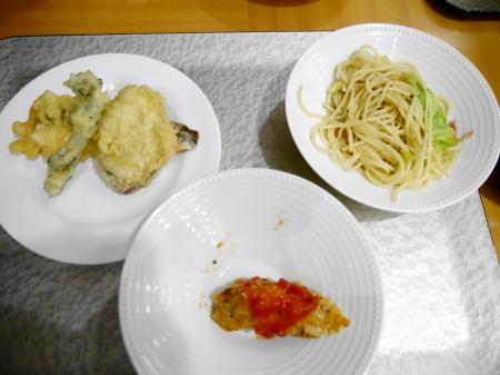 夕食3回目