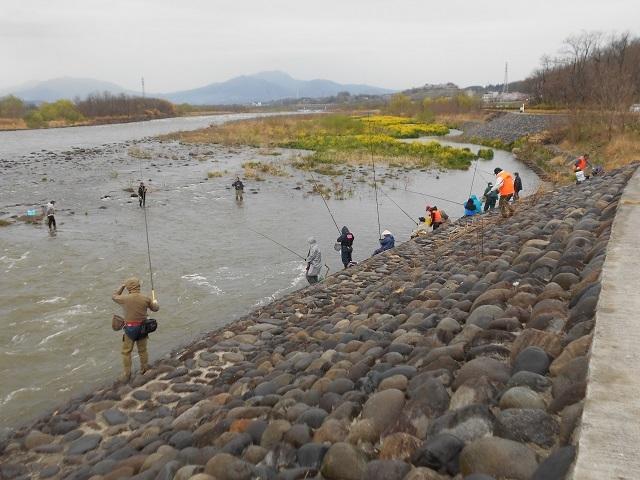 DSCN22140409電話新阪東橋放流の様子