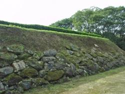 №37・天守台の石垣(北側)