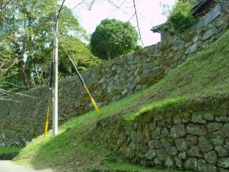 №49・「二ノ丸」北西部の石垣