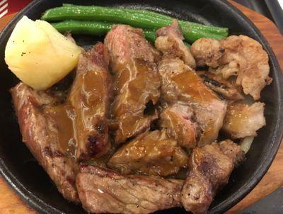 洋食グランドZEN アンガスサーロインステーキ