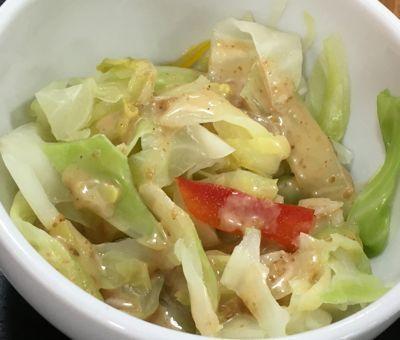 餃子定食 温野菜サラダ