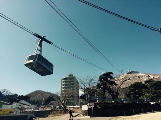 いざ 函館山山頂へ