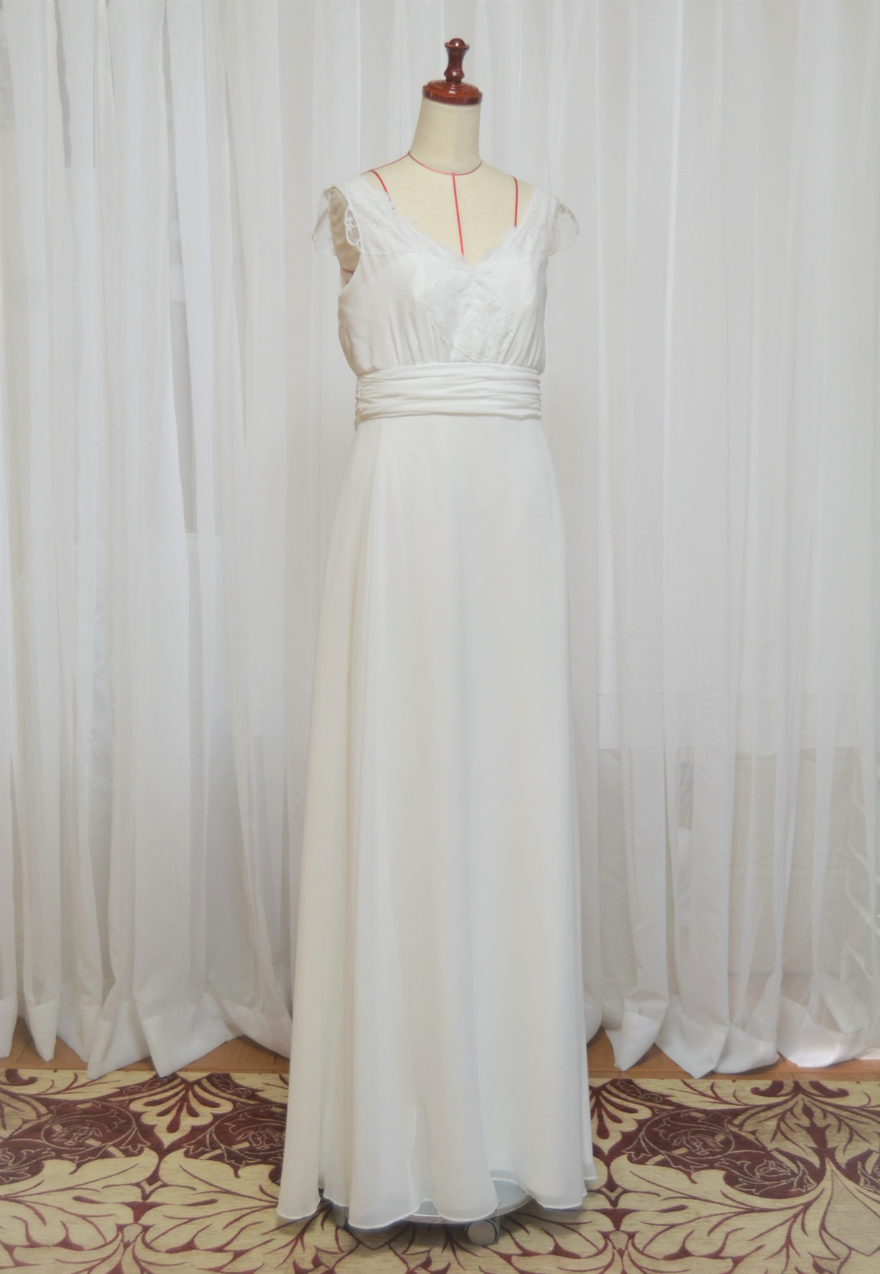 hanayomesalon スレンダーライン ウエディングドレス