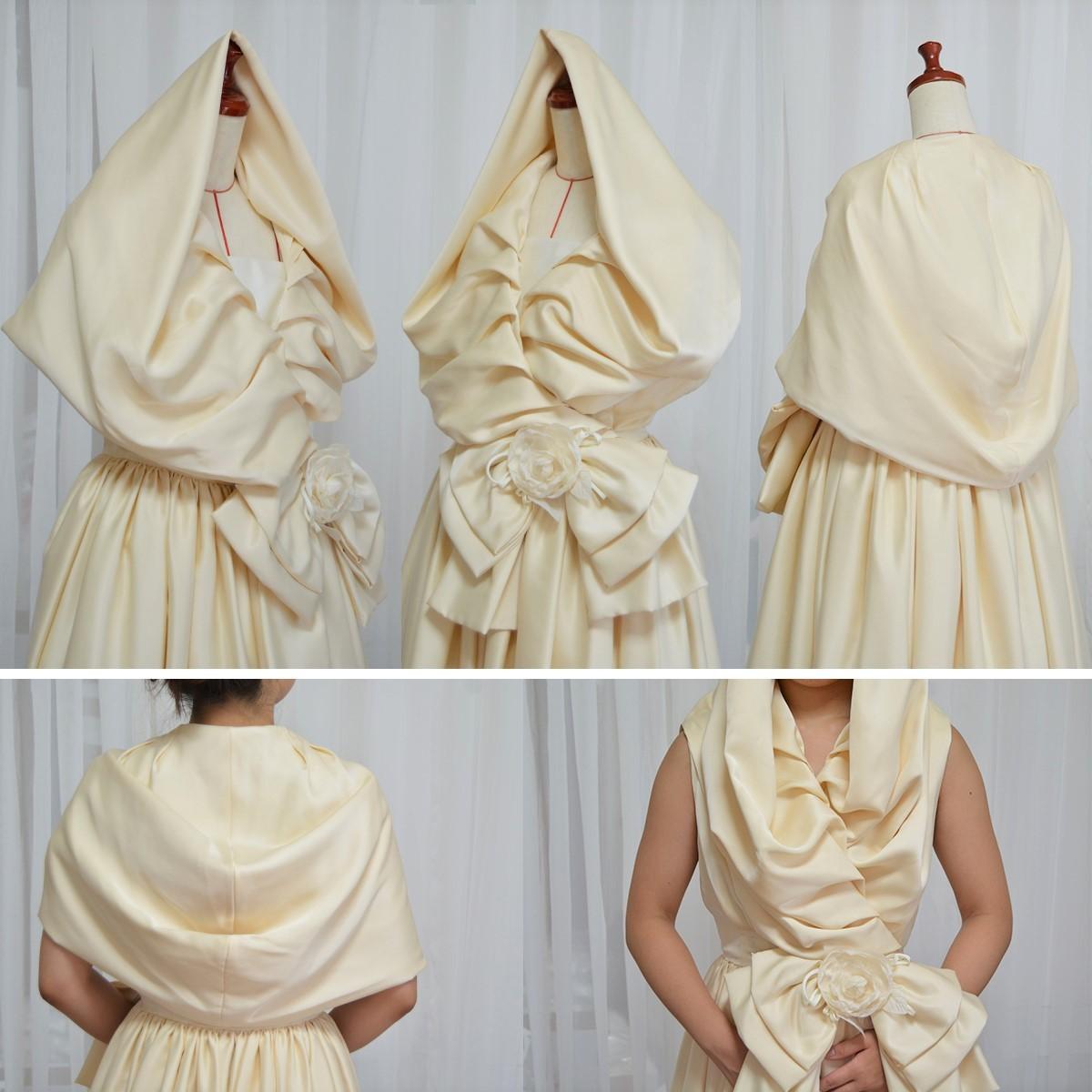 hanayomesalon 美女と野獣 ウエディングドレス