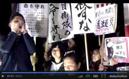 【パヨク集合】元SEALDs、福島みずほ、山口二郎、共産党・小池晃、TBS・金平茂紀ら国会前で「安倍、稲田辞めろ」抗議デモwww [嫌韓ちゃんねる ~日本の未来のために~ 記事No15014